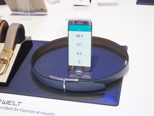 Samsung's smart belt is now on Kickstarter, and it's still called WELT