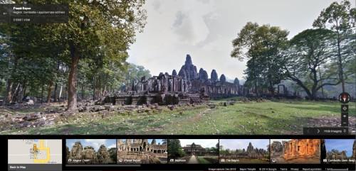 Google Street View Adds Panoramic Photos Of Angkor Wat