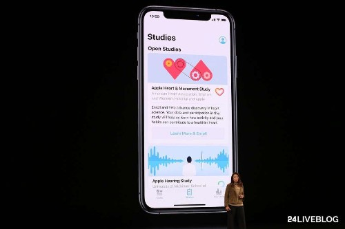 Apple is launching a Research app that will allow US consumers to participate in health studies