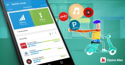 Opera Max Now Also Helps You Save Data While Streaming Music