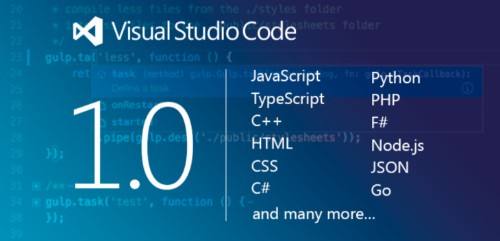Microsoft's Visual Studio Code for Windows, OS X and Linux hits 1.0