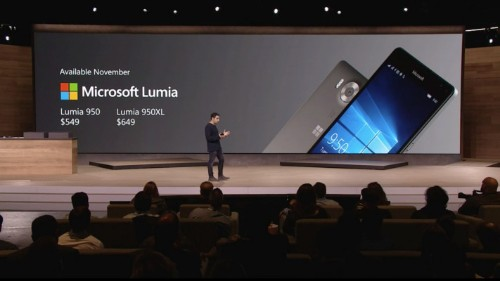 Microsoft Unveils The Lumia 950 And Lumia 950 XL, Two Powerful Windows Phones