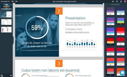 Xara Cloud is an easy to use design tool to help businesses create better looking content