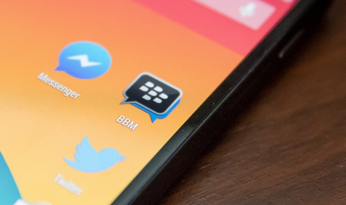BBM To Come Preinstalled On LG Smartphones