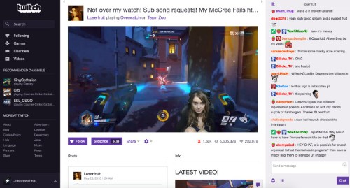 Streamer numbers and incomes are rising healthily, according to data from popular tool