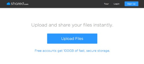 Shared.Com Takes On Mega, Dropbox With 100GB Of Free Storage Space
