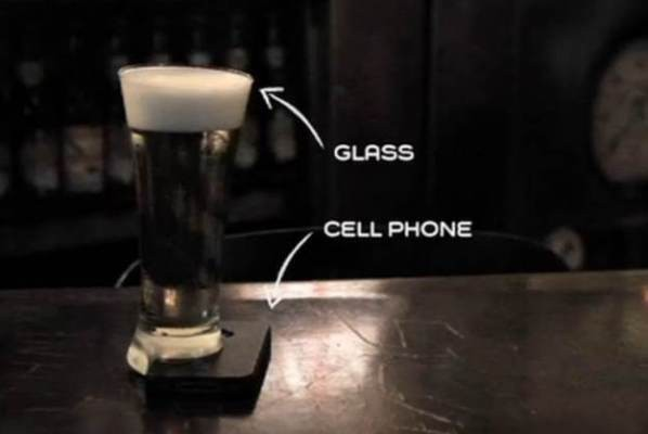 The Offline Glass Ensures You Talk, Not Text, At The Bar