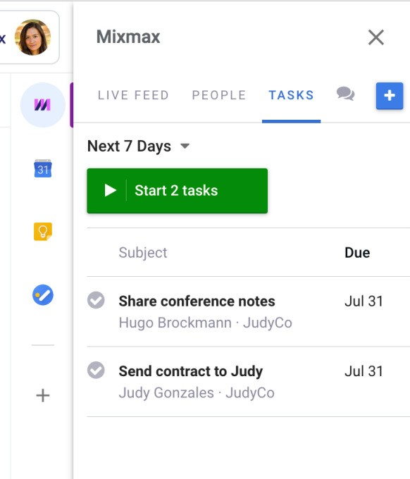 Mixmax brings LinkedIn integration and better task automation to its Gmail tool