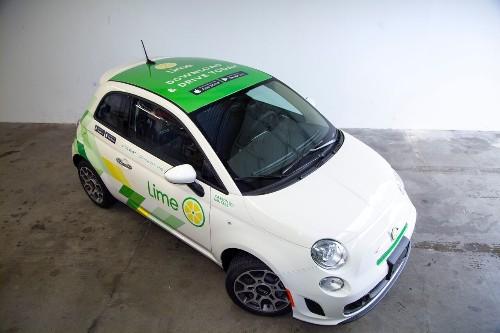 Lime is shutting down car rental service, LimePod