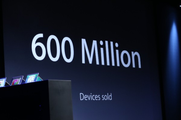 Apple Has Sold 600M iOS Devices, But Android Is Not Impressed