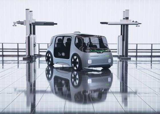Jaguar Land Rover debuts electric urban mobility concept vehicle with plans for 2021 pilot – TechCrunch
