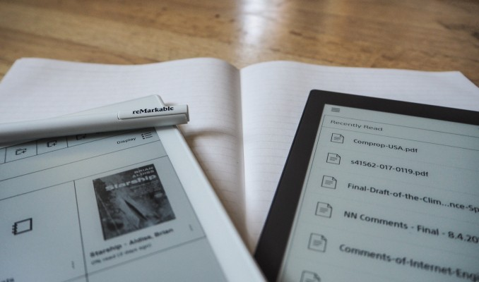 Sony and reMarkable's dueling e-paper tablets are strange but impressive beasts – TechCrunch