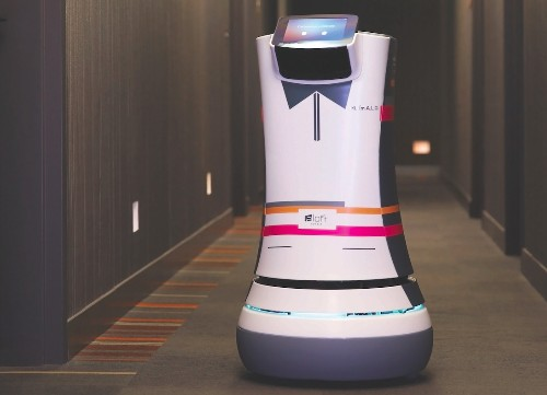 Starwood Introduces Robotic Butlers At Aloft Hotel In Cupertino