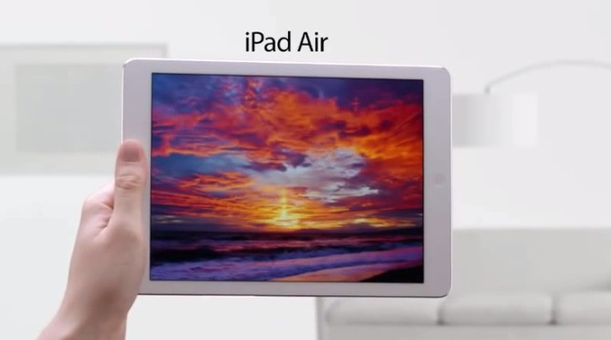Amazon Pokes Fun At Apple, Jony Ive And The iPad Air In Latest Kindle Advert