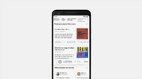 Google Search will offer better news coverage, and soon, support for podcast search