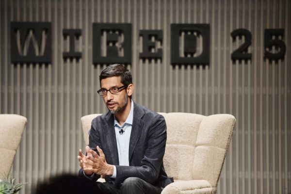 Google CEO Sundar Pichai speaks publicly for the first time about its censored China search engine