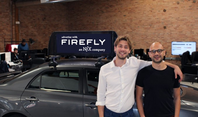 Rideshare advertising startup Firefly launches with $21.5M in funding