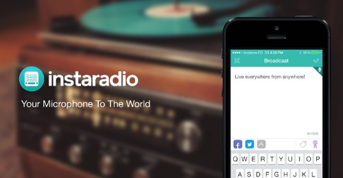 Instaradio Debuts Android App, Aims To Be The SoundCloud For Amateur Live Audio Broadcasts