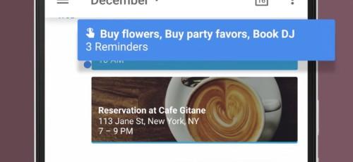 Google Calendar Gets Reminders