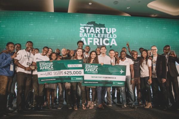 Get your tickets to TechCrunch Startup Battlefield Africa 2018