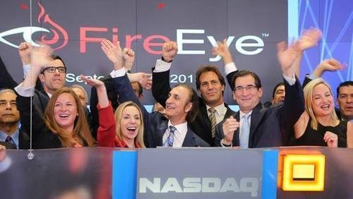 FireEye Shares Jump $16 In First Day Of Public Trading As Interest Soars For Security Companies