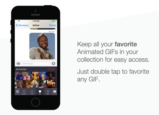 PopKey's iOS 8 Launch Will Replace Written Language With The Expressive Art Of The GIF