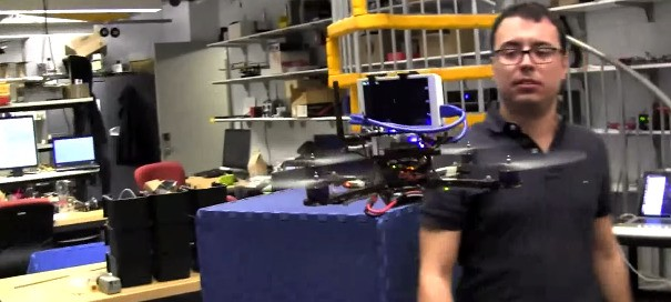 Researchers Plug Google's Project Tango Into A Drone To Let It Fly Itself Around A Room