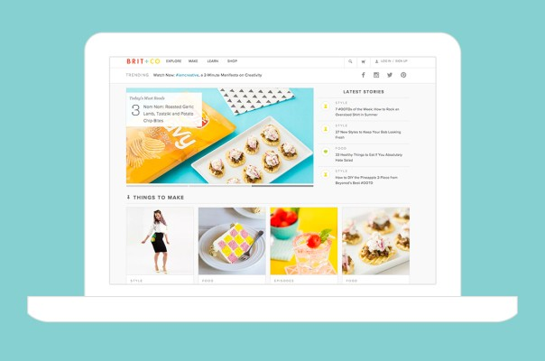 Brit+Co Confirms $20M Raise Led By Intel, Acquires How-To App Snapguide