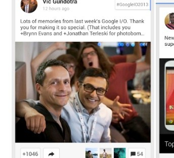 Google+ Gets A Refresh For Android To Mirror Its 41 Update Extravaganza From I/O, Adds New Location Section
