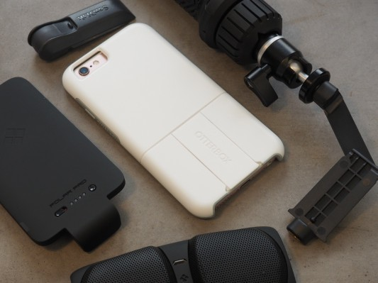 OtterBox's new case offers a battery, speakers, Square reader and other swappable functionality