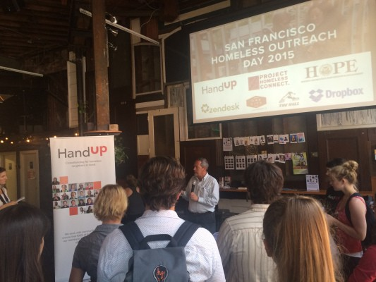 HandUp, A Startup Combatting Homelessness, Is Setting An Example For The Tech Industry