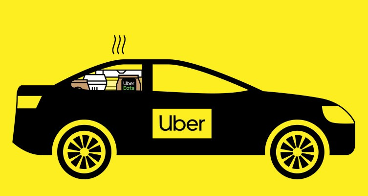 Uber's delivery business is now larger than ride-hailing