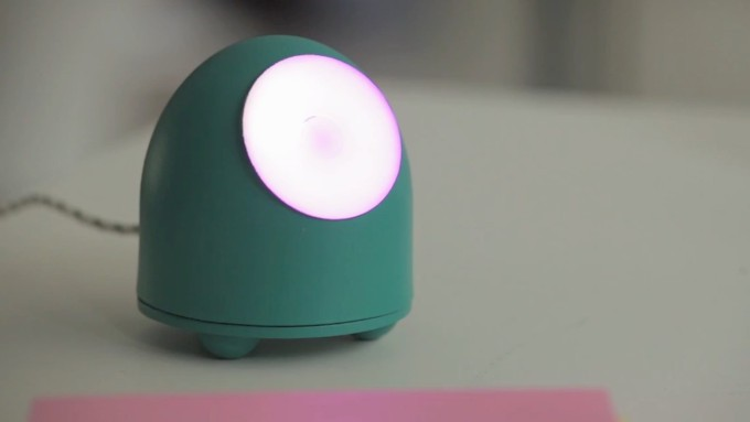 MOTI wants to help build positive habits with a little glowing robot