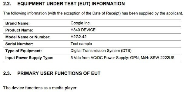 Speculation Of A Nexus Q Replacement Swirls After An Unannounced Google Media Streamer Hits The FCC