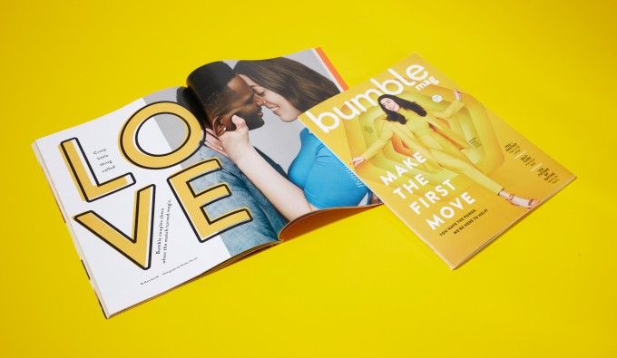Bumble goes to print with its new lifestyle magazine, Bumble Mag