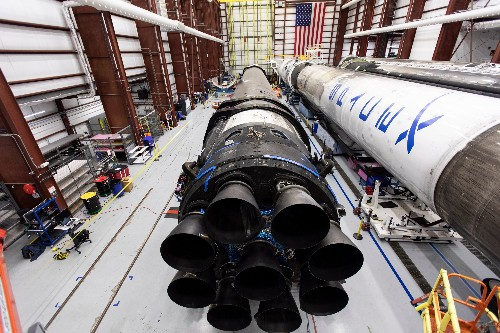 SpaceX's Falcon 9 rocket and Crew Dragon arrive at Cape Canaveral ahead of key test for crew flight