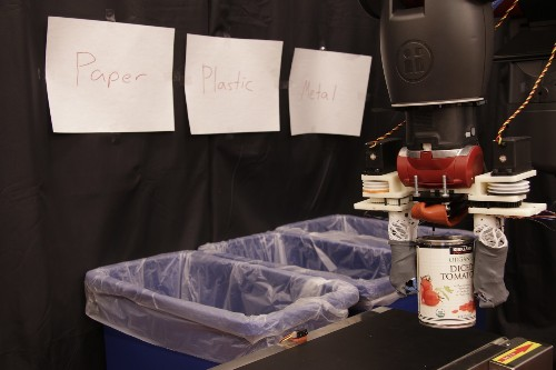MIT's recycling sorting robot can 'feel' the difference between materials