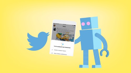 Twitter tests homescreen button to easily switch to reverse chronological