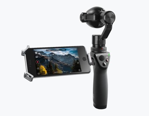 DJI upgrades its 4k handheld gimbal camera with zoom lens, motion timelapse