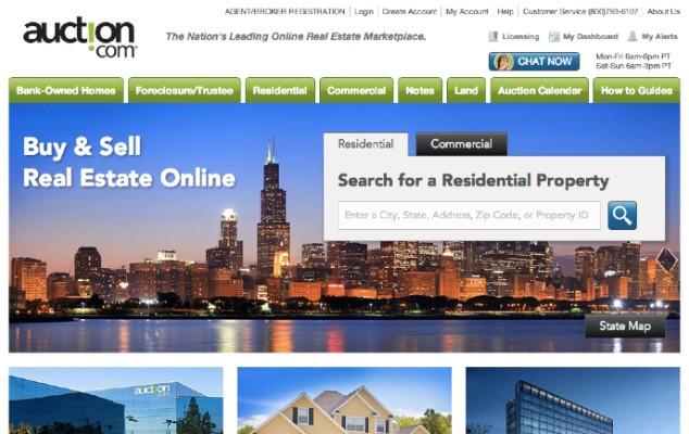 Google Capital Pours $50M Into Real Estate Marketplace Auction.com At A $1.2B Valuation