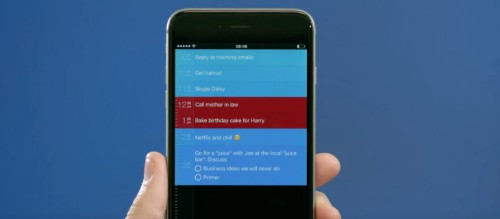 Sorted offers a new take on the standard To Do list app