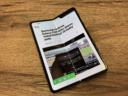 A week with the Samsung Galaxy Fold