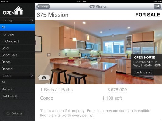 Real Estate App Open Home Pro Acquired By HomeFinder.com, Becoming Company's First Mobile App For Realtors