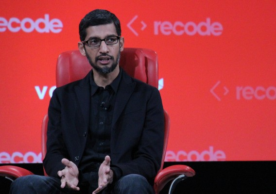 Sundar Pichai stays diplomatic about Google building its own phones