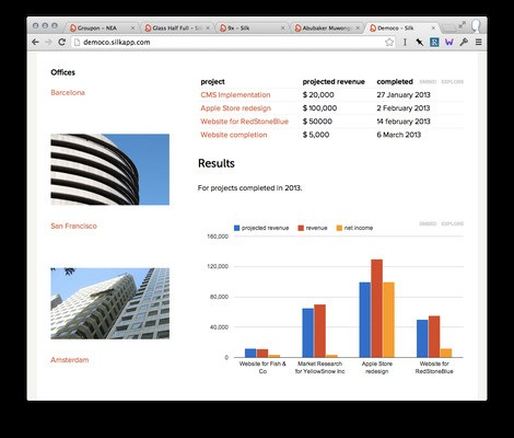 Silk, A Cloud-Based App To Visualize Data, Launches Its First Paid Product For Teams, Gets Another $1.6M From NEA