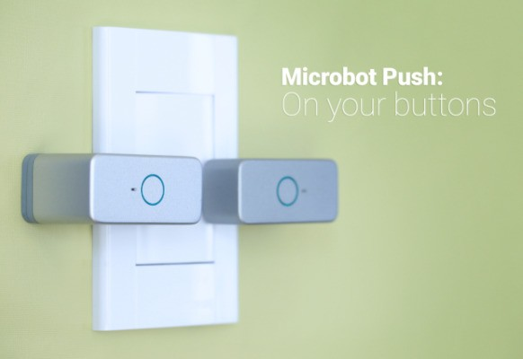 Microbot Push Is A Smart Button For Dumb Devices