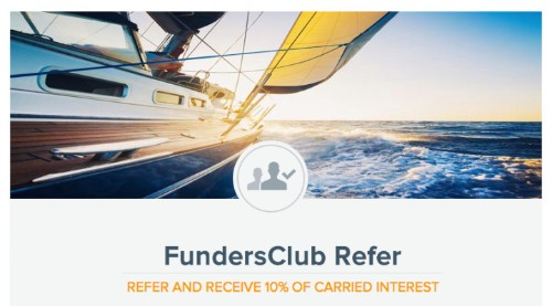 Refer A Startup To FundersClub For Crowdfunding, Get Paid If It Exits