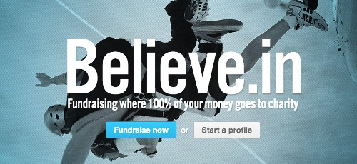 Fee-less Charity Donation Startup, Believe.in, Partners With Stripe To Offer Faster Payment Processing