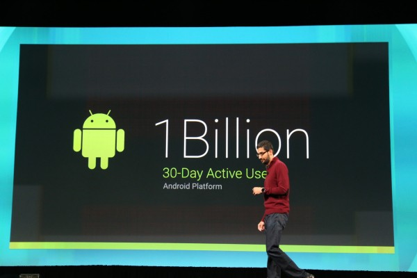 Google Now Has 1B Active Monthly Android Users