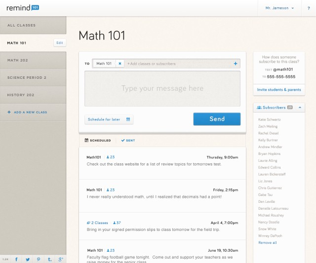 Now At 30K Schools And Growing Fast, Remind101 Is On A Mission To Modernize Classroom Communication